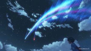 Kimi no Na wa комета в небесах