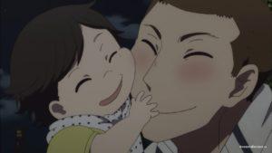 Ётаро с ребенком