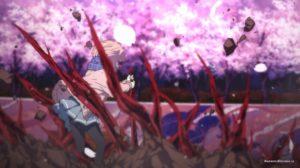 Сакура и кровь