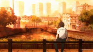 Рэй смотрит на реку