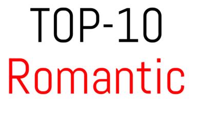 Top-10 romantic anime