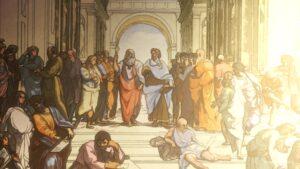Афинская школа Санти