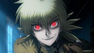 Серас с красными глазами