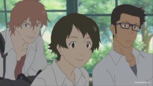 Макото, Чиаки и Коскэ