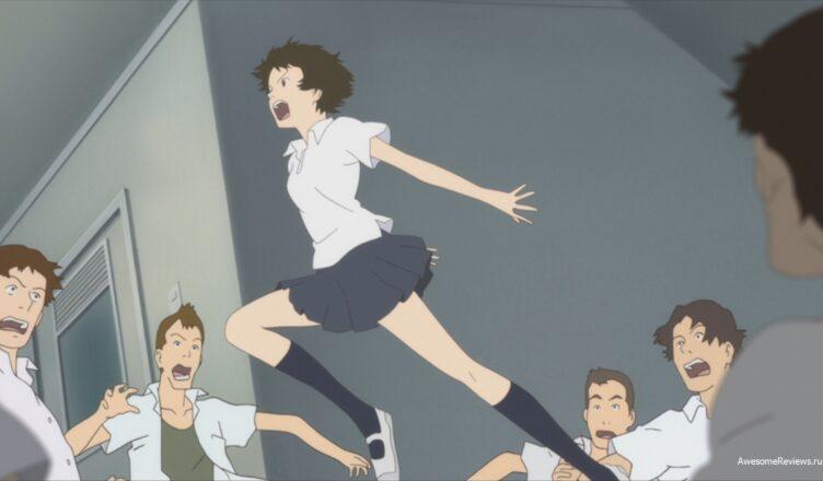 Макото прыгает